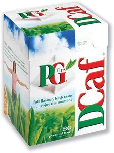PG Tips Tea Decaf (80 Teabags): Stronger than most Indian and African teas.
