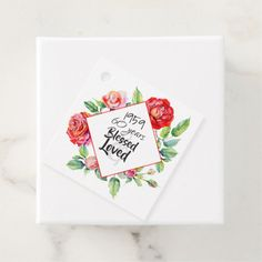 Adorn each favor with Birthday favor tags from Zazzle! Label your party favors today! 60th Birthday Party, Birthday Woman, Birthday Favors, Party Favors, Themes Themes, Watercolor Rose, Menu Cards, Favor Tags, Red Roses