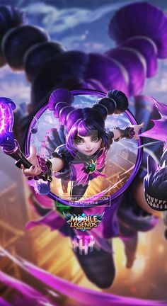 Wallpaper Phone Lylia Little Witch by FachriFHR on DeviantArt Wallpaper Wa, Game Wallpaper Iphone, Mobile Legend Wallpaper, Fantasy Characters, Female Characters, Mobiles, Alucard Mobile Legends, Moba Legends, Visit Istanbul