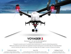 Walkera Voyager 3 DeVention Transmutable Quadcopter / Quadrotor Drone – DroneCyclone