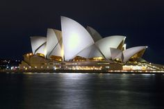 Sydney Opera House designed by Jorn Utzon (via #spinpicks)