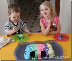 Kid-friendly cake and frosting recipe
