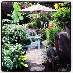 Summer evening in the Fishingham Garden | 07.10.12 | Photo by Jeff Fisher