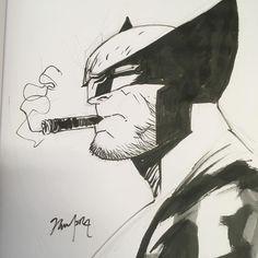 Wolverine by Dan Mora Comic Style Art, Comic Styles, Comic Art, Comic Books, Logan Xmen, Logan Wolverine, Marvel Dc, Marvel Comics, Nerd Art