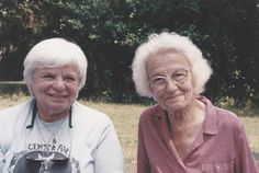 Dr. Dolores Krieger and Dora Kunz, Co-Founders of Therapeutic Touch®, photo taken by Crystal Hawk