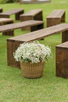Casamento no rancho –casamento rústico . Suelen