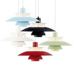 Скандинавский дизайн - датский дизайнер Пауль Хеннингсен (Poul Henningsen).