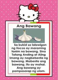 Filipino reading passages for kids. Practice reading through these Filipino short passages for your remedial reading session. Passages in. Reading Comprehension For Kids, Phonics Reading, Reading Intervention, Reading Passages, Story For Grade 1, Grade 1 Reading, Tagalog Love Quotes, Short Stories For Kids, Visual Aids
