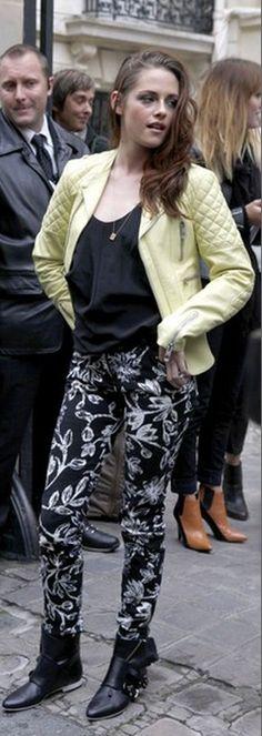 Jacket, shirt and shoes - Balenciaga Necklace - Cartier similar style jacket by the same designer r Balenciaga Quilted-shoulder biker jacket