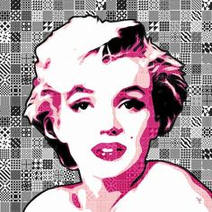 """Marilyn Monroe - Pink Lady Too - Pop Art"" by William Cuccio, Long Beach // Marilyn Monroe - Pink Lady Too - Pop Art - Digital Art // Imagekind.com -- Buy stunning, museum-quality fine art prints, framed prints, and canvas prints directly from independent working artists and photographers."