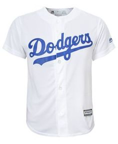 Majestic Cody Bellinger Los Angeles Dodgers Player Replica Cool Base Jersey, Big Boys (8-20) - White XL