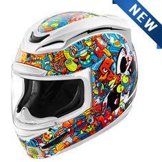 Icon Airmada Doodle Helmet