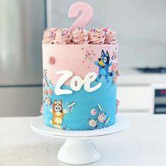 4th Birthday Cakes, 2nd Birthday Party Themes, Frozen Birthday, Little Girl Birthday Cakes, Abc Party, Birthday Banners, Farm Birthday, Birthday Invitations, Birthday Ideas