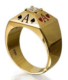Poker Cupcakes, Poker Cake, Big Rings, Rings For Men, Poker How To Play, Unusual Rings, Grillz, Cakes For Men, Love Bracelets