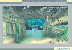 Концептуальный проект Парка океанографии и палеонтологии на ВВЦ «МИР РОССИЙСКИХ МОРЕЙ В МОСКВЕ» | Планета Нептуна - строительство, проектирование океанариумов