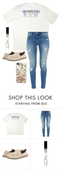 """""""Untitled #197"""" by southern-belle02 ❤ liked on Polyvore featuring Vineyard Vines, Ted Baker, sanuk, Bobbi Brown Cosmetics and Casetify Cute Lazy Outfits, Preppy Outfits, Preppy Style, Spring Outfits, Fashion Outfits, Womens Fashion, College Outfits, School Outfits, Madison Style"""