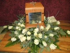 creamation flowers | product information this cremation urn flower ring is made using all ...
