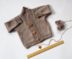 Baby Alpaca and Silk Baby Sweater  Hand Knitted Baby by Junikid