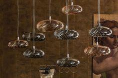 Borosilicate glass pendant lamp LIM-Z By Cattelan Italia design Andrea Lucatello Ceiling Lamp, Ceiling Lights, Italia Design, Glass Diffuser, Chandelier Pendant Lights, Interior Lighting, Contemporary, Modern, Lime