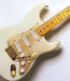 David Glimour of Pink Floyd has collected some very valuable and historic guitars his collection includes several sought after, highly priced items. The jewel however is the Fender Stratocaster with the #0001 serial number.