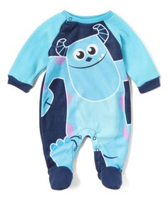 Look what I found on #zulily! Blue Monsters, Inc. Footie by Children's Apparel Network #zulilyfinds