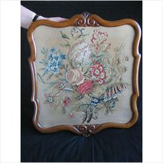 Antique Berlin Woolwork Embroidery, Tapestry Listing in the Fabric,Fabric & Textiles,Antiques Category on eBid United Kingdom