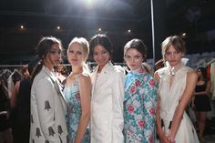 Backstage Honor SS15 New York