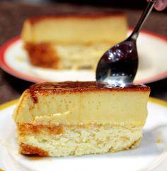 The perfect custard cake