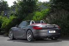 Schmidt Revolution Lowers Down and Wheels Up Porsche Boxster Mk3 - Carscoops