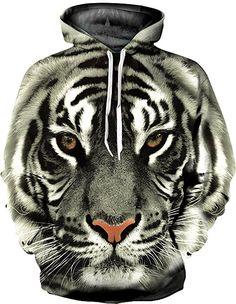 Tiger Printed Sweatshirt Men Hoodies Hip Hop Streetwear Vetement Homme 2016 New Fashion Men Hoodie Sweatshirt Casual Sweat Tiger Hoodie, Wolf Hoodie, Grey Hoodie, Hoodie Sweatshirts, Pullover Hoodie, Trendy Hoodies, Cool Hoodies, Unisex, Business Casual Men