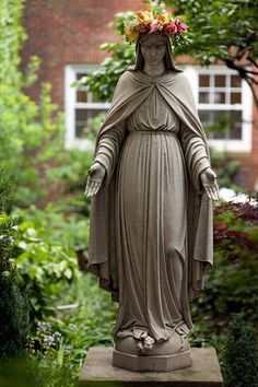 Virgin Mary ~ I want to make a Marian Garden