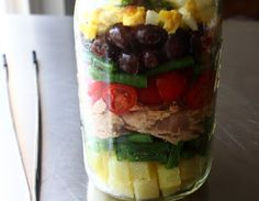 """Food Wishes Video Recipes: """"Norcal"""" Nicoise Salad – Layered for Your Pleasure Summer Salad Recipes, Salad Recipes For Dinner, Healthy Salad Recipes, Avocado Vinaigrette, Nicoise Salad, Food Wishes, Most Delicious Recipe, Unprocessed Food, Food Challenge"""
