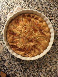 Jättegod äppelkaka - påminner om mammas