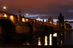Early morning by Charles Bridge in Prague Charles Bridge, Early Morning, Prague, Walks, Monument Valley, Dawn, Photographers, Tours, Night