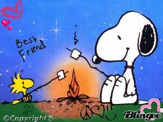 Snoopy and Woodchuck!