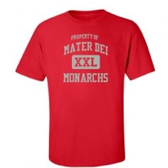 Mater Dei High School - Santa Ana, CA | Men's T-Shirts Start at $21.97