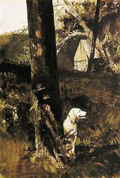 After the Chase. Andrew Wyeth