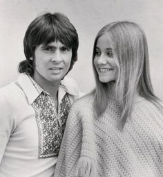 Davy Jones and Maureen McCormick beautiful people