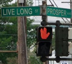 At the corner of Live Long and Prosper