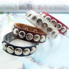 Buttoned Bracelet