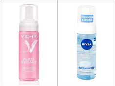Espuma de limpeza facial para combater a preguiça de lavar o rosto. | 40 versões mais baratas de produtos de beleza que viraram hit