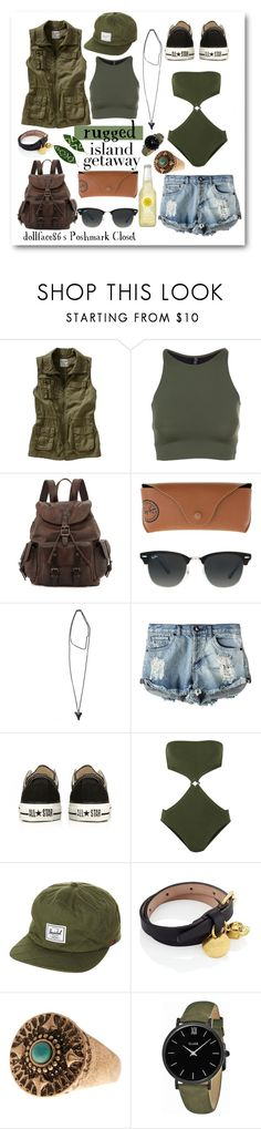 """Island Getaway:: Rugged"" by stacypark86 on Polyvore featuring Old Navy, Onzie, Frye, Ray-Ban, Givenchy, OneTeaspoon, Converse, Eres, Herschel Supply Co. and Alexander McQueen"