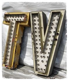 TV Marquee Letters