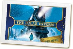THE POLAR EXPRESS   Great Smoky Mountain Railroad.  I would love to do this with my family.
