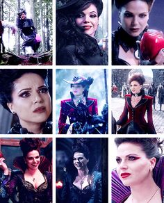 The many faces of Regina/Evil Queen