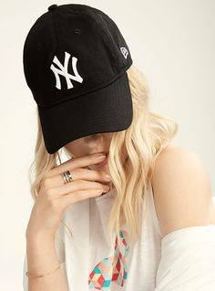 Rose New York 6 Panel Courbé Pic NY Yankee Style Casquette De Baseball Gratuit Rapide Post