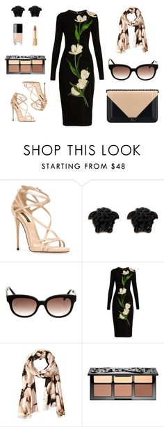 """""""Pretty in pink"""" by charlottes-styles on Polyvore featuring mode, Dolce&Gabbana, Chanel, Versace, Balenciaga, Calvin Klein en Sephora Collection"""