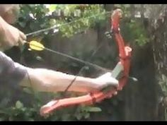 Homemade Ultra Compact Compound Bow - YouTube