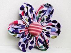 Nähen mit Cherrygrön: Blütenzauber: Stoffblumen, Blume / Blüte aus Stoff