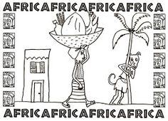 Aula virtual de audición y lenguaje: África : adivinanzas, bordes y cuento